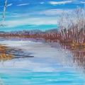 brucethompson-n8022-beaver-pond-north-of-peace-river-24x30