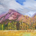 brucethompson-n8023-our-hike-in-the-athabasca-valley-last-october-24x36