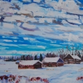 brucethompson-n8029-three-cabins-little-buffalo-alberta-30x40