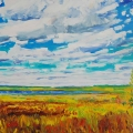 brucethompson-n8032-winagami-lake-late-summer-30x40
