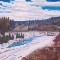brucethompson-n13029-berland-river-bridge-24x30