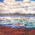 brucethompson-n10028-pelican-rapids-slave-river-30x40