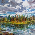 brucethompson-n9028-tamarack-and-black-spruce-north-of-hinton-18x24