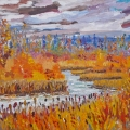 brucethompson-n9034-marten-river-near-cadotte-lake-october-30x40
